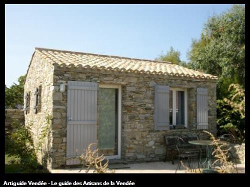 Maison neuve habillage pierres et tuile pigeonnée Le Vieil (Noirmoutier)